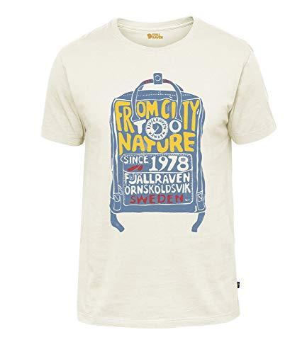 FJÄLLRÄVEN Herren Kånken T-Shirt, Eggshell, XL