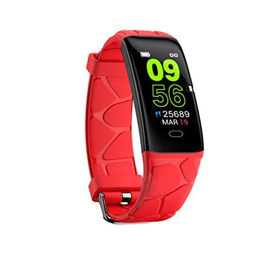 YXJ E58 Pantalla De Color Pulsera Inteligente Relojes Tasa del Corazón Monitoreo del Sueño Bluetooth,B