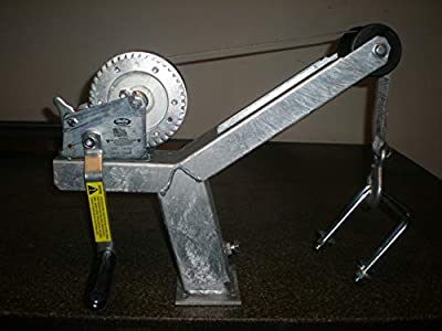 Die-matic Winch Stand W/Dutton Lainson 1400lbs Winch and Strap (5 Inch Ubolts)