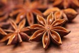 100% Natural, Non-GMO, No Preservatives and Artificial Color, Vegan, Premium Gourmet Food Grade Spice. Packed in zipper pouch for long term storage,easy to store and reusable. Star anise is commonly used in its whole form to flavor teas, marinades, s...
