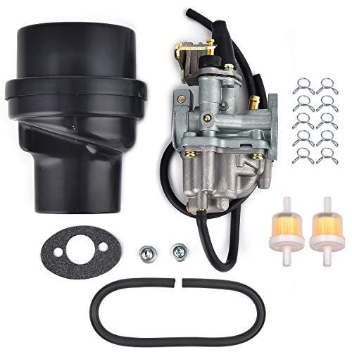 Carburador Reemplazo para LT 50 LT50 1984 1985 1986 1987 ATV Carb con caja de filtro de aire