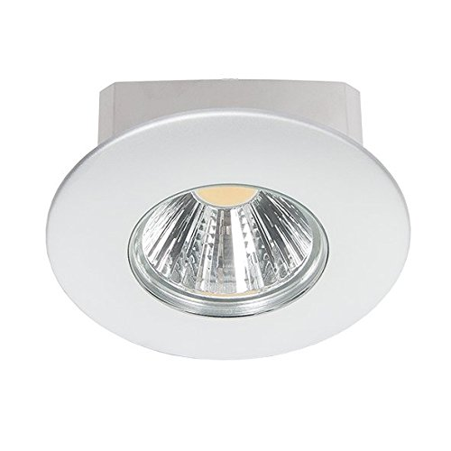 nobilé Downlight A 5068 T Flat IP44 chrom-matt 8W, 38 Grad, warmweiß NO-1856670123