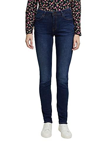 ESPRIT Damen 990EE1B330 Jeans, 901/BLUE Dark WASH, 32/30