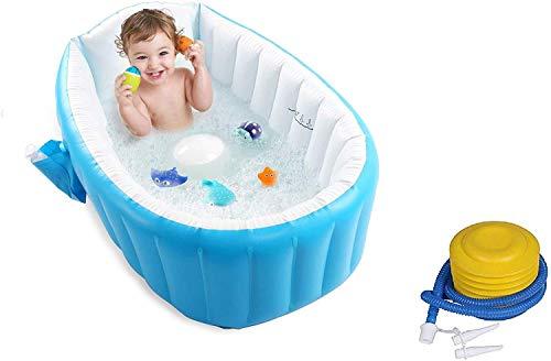 YUVORA European Standard Inflatable Baby Bath Tub with Pump (Kids Bath tub)
