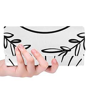 Womens Wallet Blackwork Tattoo Flash Eye Providence Masonic Print Clutch Cell Phone Bag Fashion Travel Three Fold Wallet Large Capacity Wallet Card Case