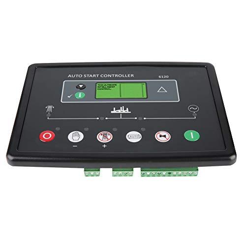Módulo controlador de generador, panel de control de generador práctico y práctico, firma universal para presión de aceite, frecuencia, voltaje, corriente