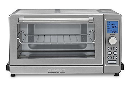 Cuisinart TOB-135FR Digital Convection Toaster Oven (Renewed),Brushed Stainless