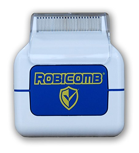 LiceGuard RobiComb Electric Head Lice Comb Kills Lice and Eggs, No Chemicals, Non-Allergic, 100% Safe for Children