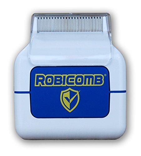 LiceGuard RobiComb Electric Head Lice Comb Kills Lice and Eggs No Chemicals NonAllergic 100% Safe For Children