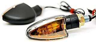 Krator Mini Custom Turn Signals Indicator Lights Lamp For Yamaha YZF R1 R1S R6 R6S 600R
