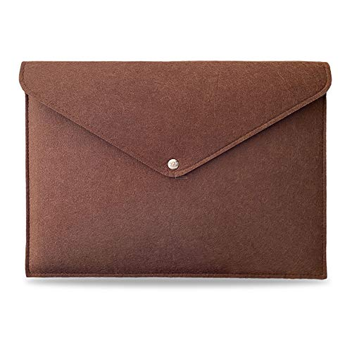Felt Laptop Sleeve Case 13 Inch for 2016-2020 MacBook Pro, 2017-2020 MacBook Air, Surface Pro, Dell XPS 13, IPad Pro 12,9', Surface Pro, Cute Case for Women