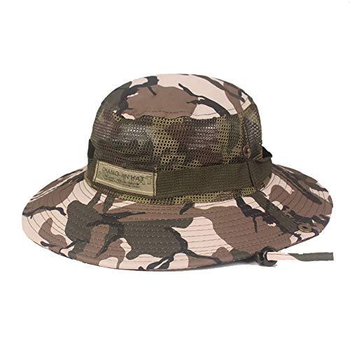 ASR Basin Cap Tarn Hut, Männer Fischerhut für Camping, Wandern, Golf, Joggen, Laufen,Angeln Atmungsaktiver Netzhut (B)