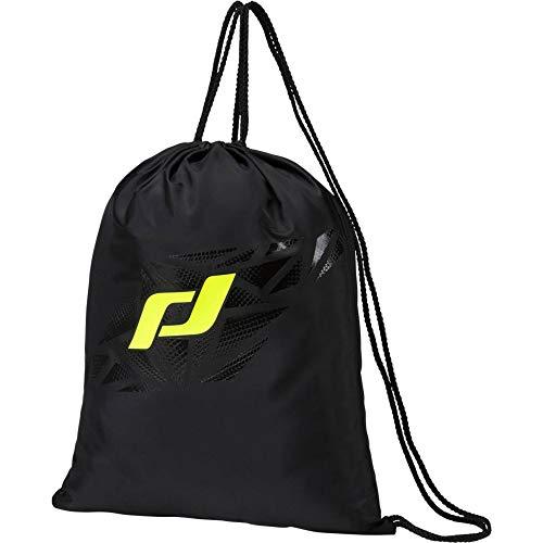 PRO TOUCH Unisexe – Sac de gym Force pour adulte., Mixte - Adulte, Sacs à cordon, 274408, noir/jaune, Taille unique