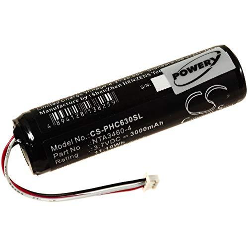 Batterij voor Babyphone Philips Avent SCD630, 3,7V, Li-Ion