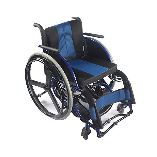Sedia A Rotelle Pieghevole Di mezza età lega di alluminio ultra-leggero pieghevole professionale Sport sedia a rotelle smontaggio sedia a rotelle Leggero Pieghevole Per Una Facile Memorizzazione