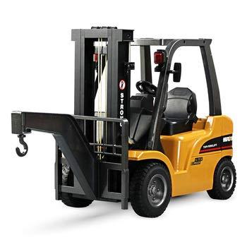 RC Auto kaufen Baufahrzeug Bild 3: s-idee® S1577 Rc Gabelstapler und Kran 8 Kanal 1:10 mit 2,4 GHz Huina 1577*