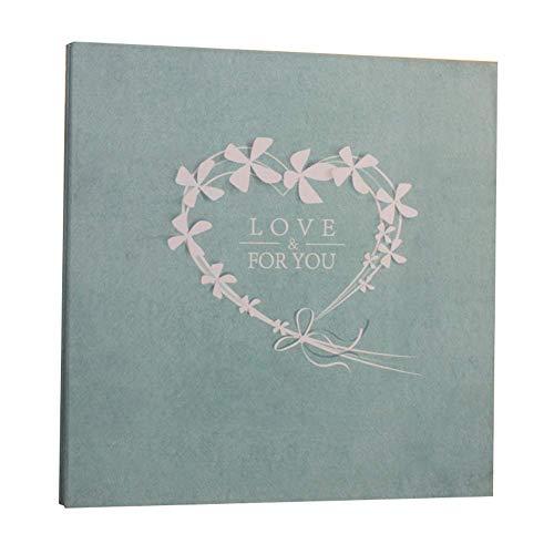 YEE Album de Fotos Mano-Paste Parejas Creativas Álbum Regalo de cumpleaños (Color: # 1, Tamaño: 18in)