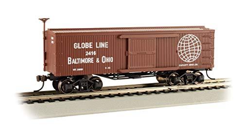 Bachmann Trains - Old-Time Box Car - B&O - Globe LINE - HO Scale