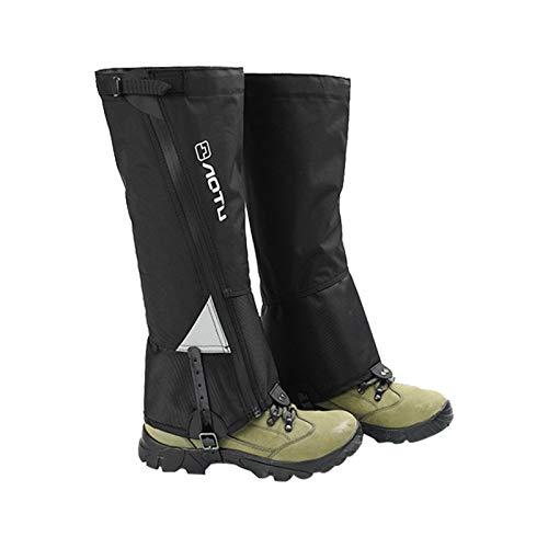 sunronal Outdoor Wasserdicht Gamaschen, Unisex Gamaschen Wandern Gamaschen Gaiter Klettern Schneewandern Wandernde Gehende Kletternde Jagd-Schnee Legging Gamaschen