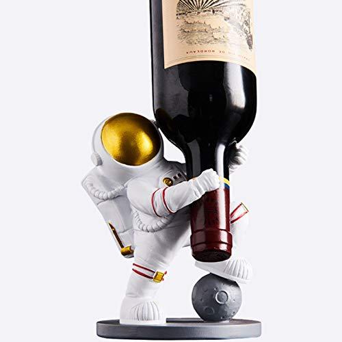 abamboo Estante de Vino Simple Spaceman Wine Rack decoración Creativo gabinete de Vino para el hogar decoración de Lujo Muebles artesanías