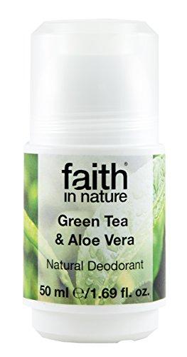 Faith In Nature, Aloe Vera & Grüner Tee Roll On, 50 ml