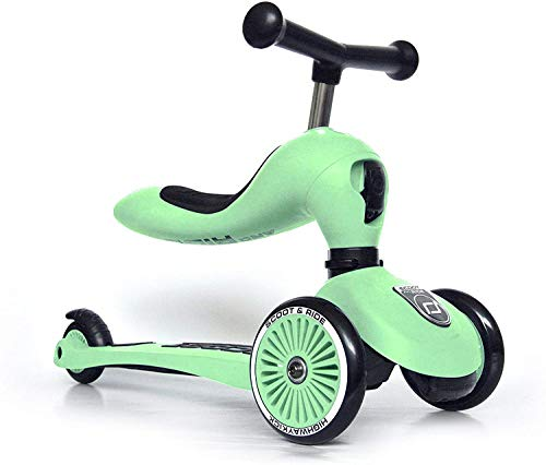 SCOOT & RIDE HIGHWAYKICK One Patinetes, Adultos Unisex, KIWI (Verde), Talla Única