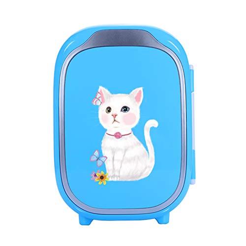 Refrigerador de Belleza refrigerador cosmético portátil Compacto congelador de Coche pequeño y silencioso para almacenar Productos cosméticos para el Cuidado de la Piel