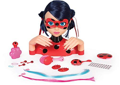 IMC Toys- Tête à coiffer, 442054LB, Rouge