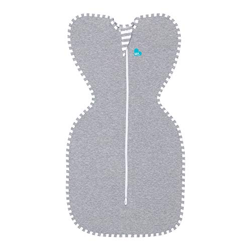 Love To Dream Swaddle UP, Gray, Medium, 13-18.5 lbs.,...