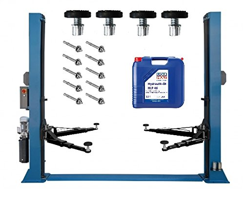 2-Säulen-Hebebühne DTPF 6093 EP 4.0T 230 Volt mit 10 Öl Modell 2021