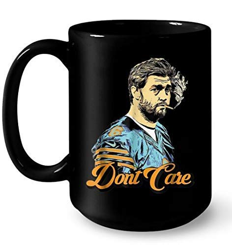 N\A Smoking Jay Cutler Don & rsquo; t Care Coffee Mug 11oz - Taza