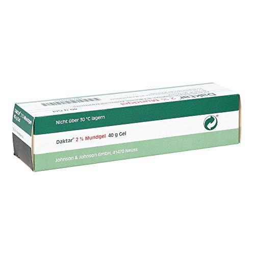Daktar 2% Mundgel bei Pilzerkrankungen der Mundschleimhaut, 40 g Gel