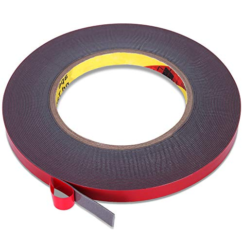 Lvyinyin Double Sided Adhesive Tape, Heavy Duty Mounting Tape, Waterproof Foam...