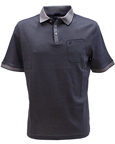 Daniel Hechter Herren Polo Poloshirt, Blau (Navy 60), Small