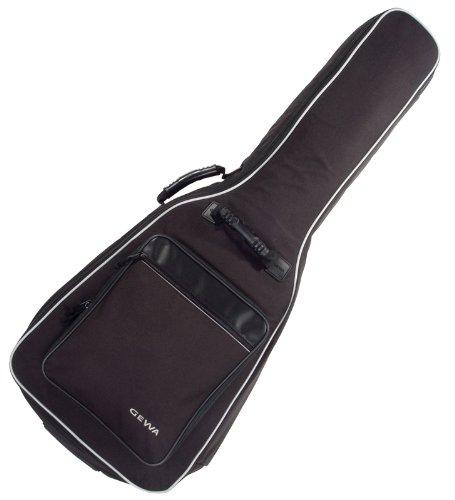 Gewa Gitarrentasche Economy für Konzertgitarren (Schwarz)