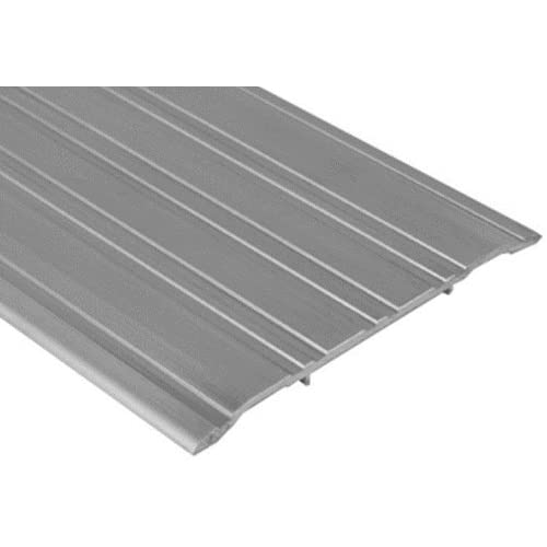 5-Inch x 1//4-Inch x 36-Inch Frost King CS514//36 Fluted Aluminum Saddle Threshold Mill Finish