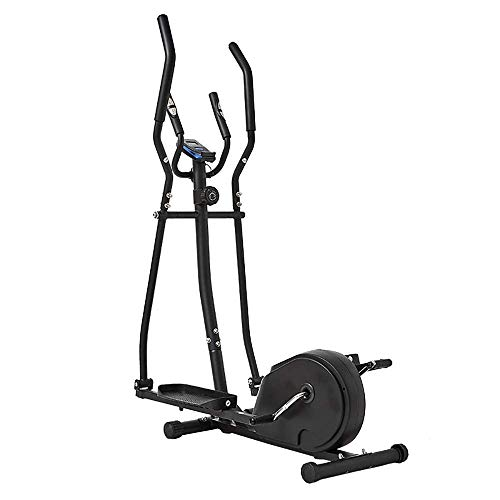 HEWEI Bicicleta elíptica máquina para Adelgazar Compact Fitness Bicicleta estática con 8 Niveles de Resistencia máquina de Entrenamiento Cardiovascular