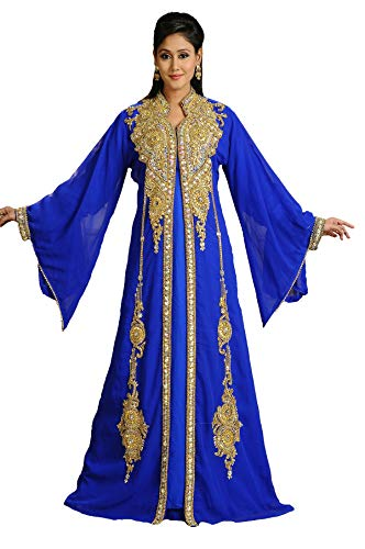 Maxim Creation Jalabiya 3588 - Vestido de novia (marroquí, caftán, Abaya Jilbab DJELLEBA)