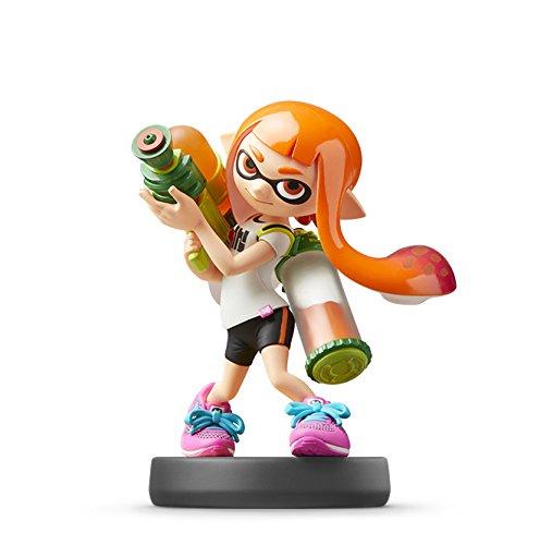 Nintendo Amiibo Inkling Girl (Super Smash Bros. Smash Brothers Series) Splatoon