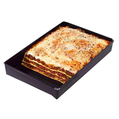 Auflaufform Alternative für den Backofen | Ofenform für nahezu alle Öfen geeignet | Ideal geeignet zum Garen und Backen | Grill Zubehör