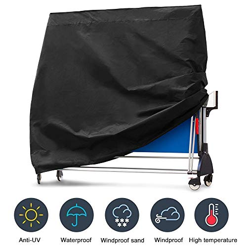 Buy Bargain Fuoliystep Ping Pong Table Cover, Heavy Duty Waterproof Breathable Oxford Fabric Folding...