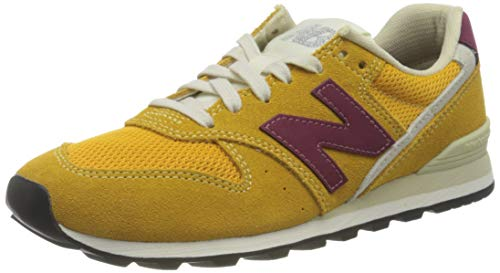 New Balance WL996SVD, Walking Shoe Mujer, Amp Pink Heather, 36 EU