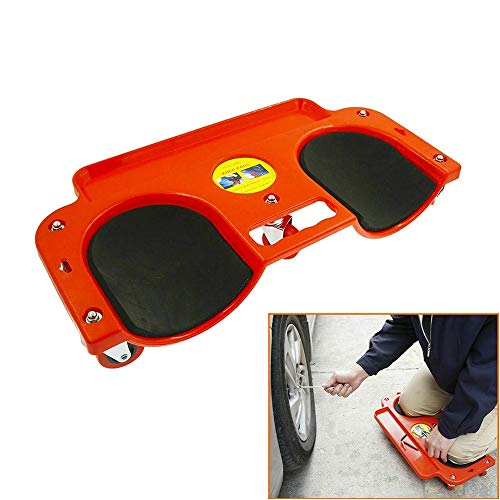 NOBGP Rolling Knee Creeper/Pads met ABS High-Impact Frame, met 5 Duurzame Swivel Castors Multifunctionele Kneel Mat voor Car Beauty, Carpenter Laying Tile, Gereedschap