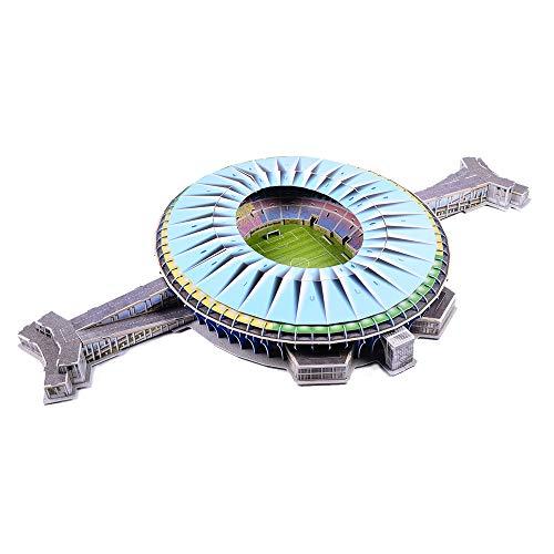 Aida Bz 3D-Modell des Maracana-Stadions, DIY Puzzle-Andenken für das 2016 National Olympiastadion in Brasilien (18
