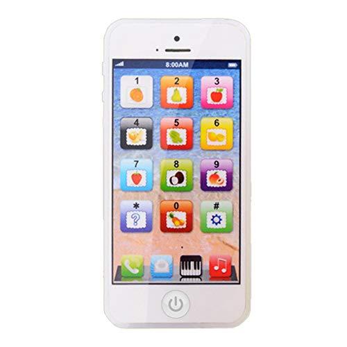 Niños Aprendizaje Teléfono Móvil Juguete con Música Juegos Máquina Niños Bebé Educación Temprana Juguete Regalo