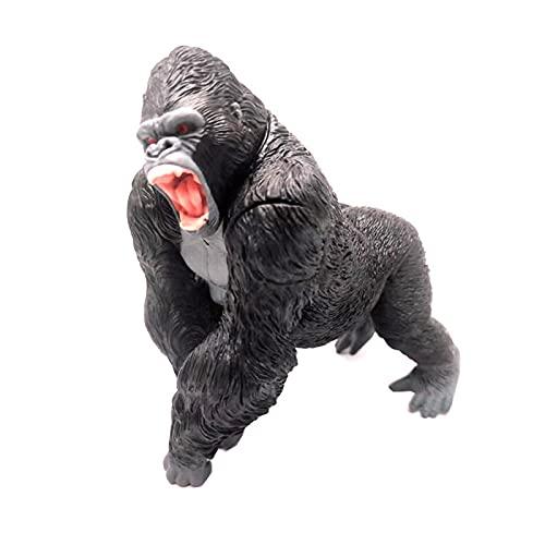 dqwer Film King Kong vs. Godzillas Anime Figure King Kong Monster Skull Island Giocattolo per Bambini Ornamento a Mano Modello 14Cm