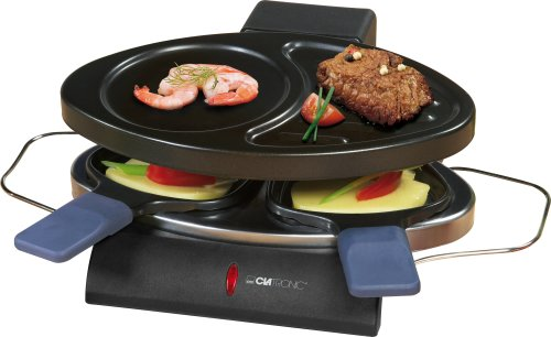 Clatronic RG 3198 Raclette-Grill inklusive 2 Pfännchen