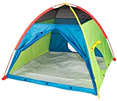 "Pacific Play Tents 40205 Kids Super Duper 4-Kid Dome Tent Playhouse, 58\"" x 58\\"" x 46\\"""