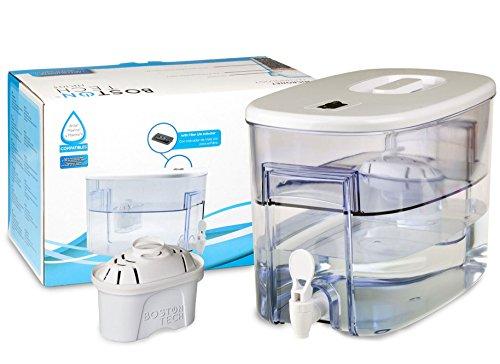 Boston Tech Fresia, dispensador de Agua Filtrada Compatible con filtros Brita Maxtra 9 litros. Un Filtro de Regalo