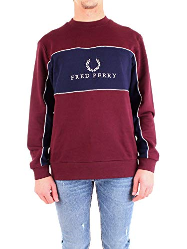 Fred Perry Panel Piped Sweatshirt, Sudadera